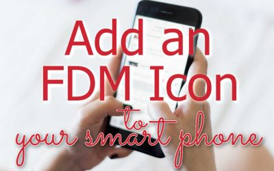 Put an FDM Icon on your Smart Phone