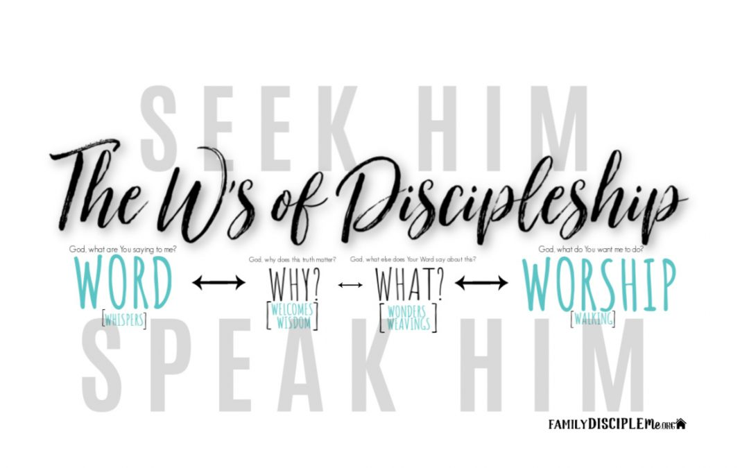 The W's of Discipleship
