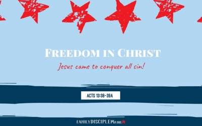 Freedom in Christ Lesson 1