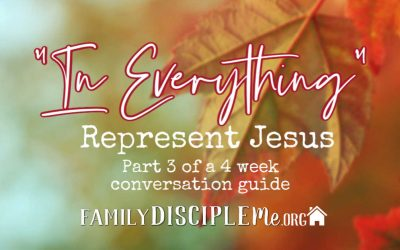 In Everything: Represent Jesus