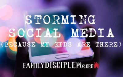 Storming Social Media…because my kids are there!
