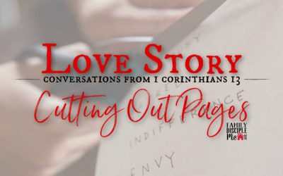 Love Story: Cutting Out Pages