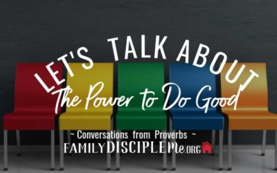 Let's Talk About: The Power to Do Good