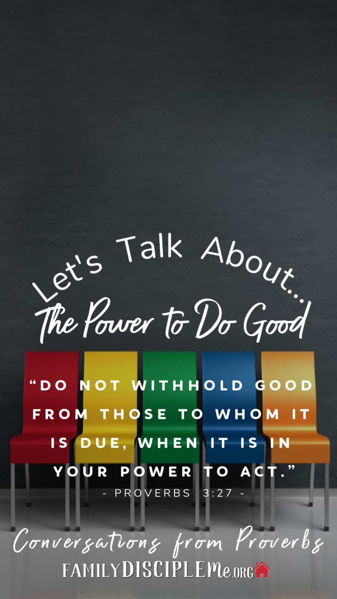lets talk power to do good