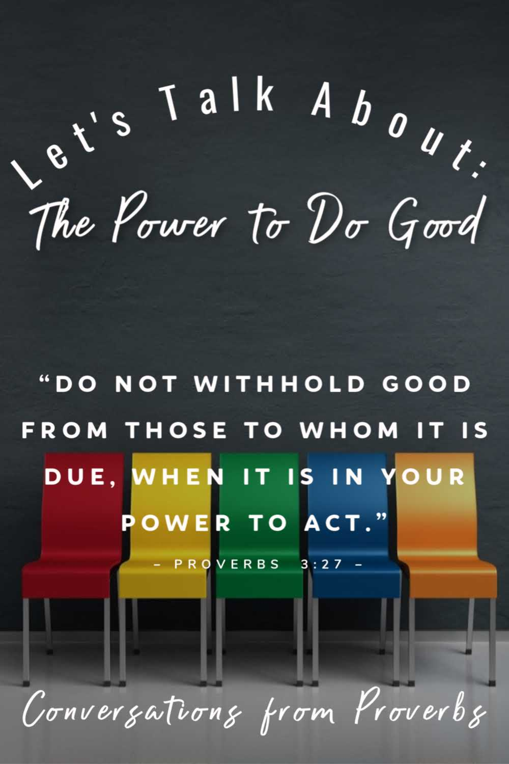 Lets Talk the power to do good