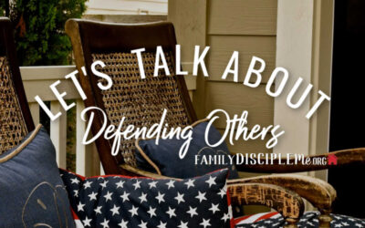 Let's Talk About: Defending Others