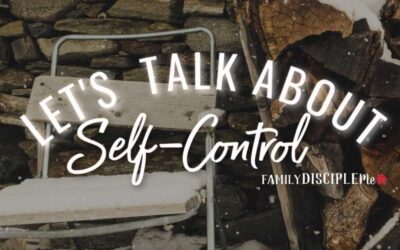 Let's Talk About: Self Control