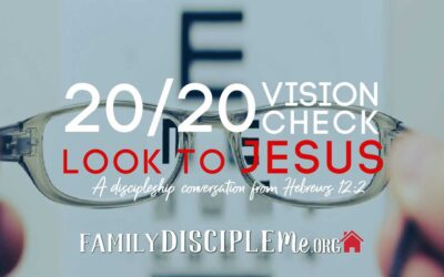 20/20 Vision Check: Look to Jesus