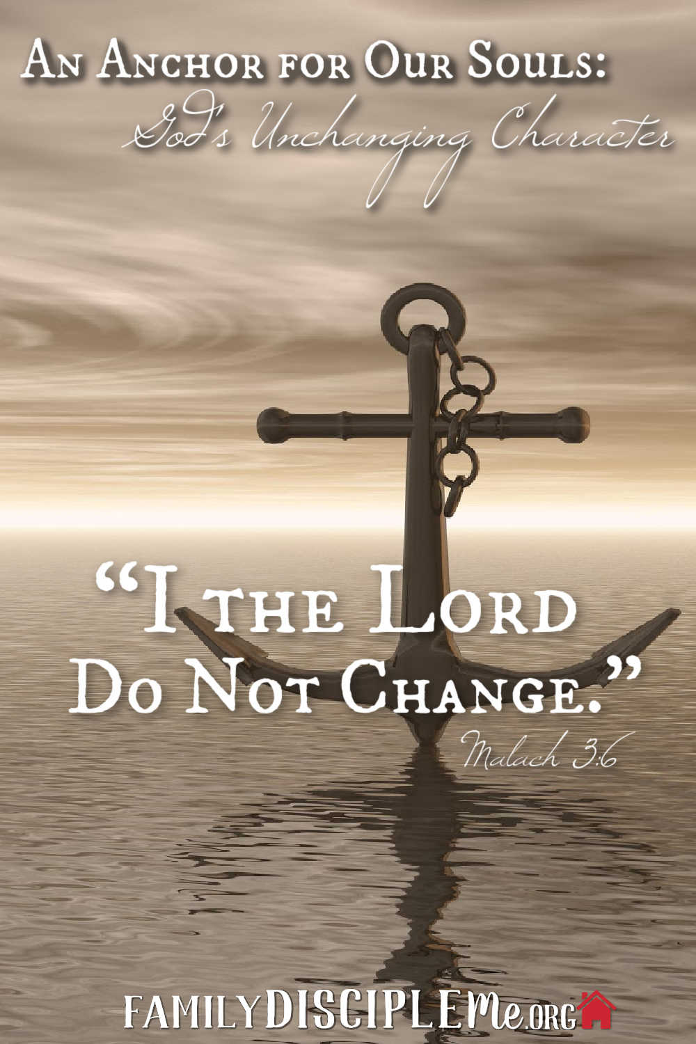 God's Unchanging Character