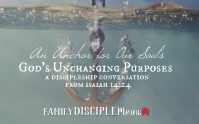 An Anchor for Our Souls: God's Unchanging Purposes