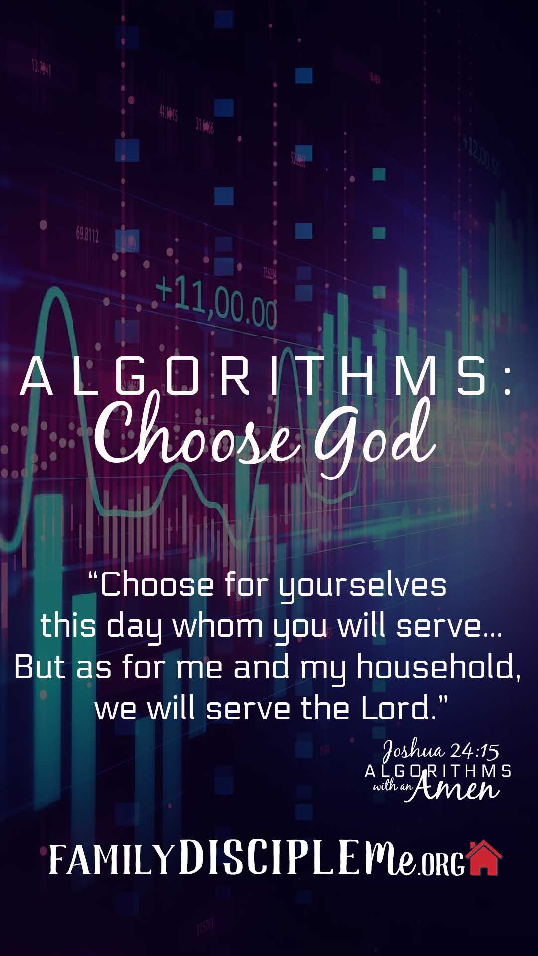 Algorithms- Choose God