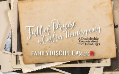 Fall of Praise: A Call for Thanksgiving