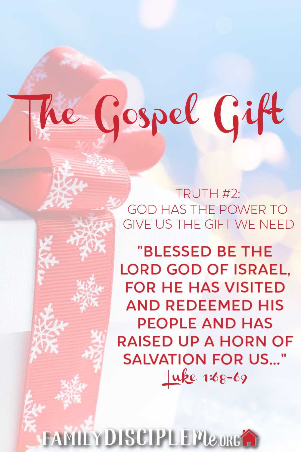 God Has the Power to Give Us the Gift We Need