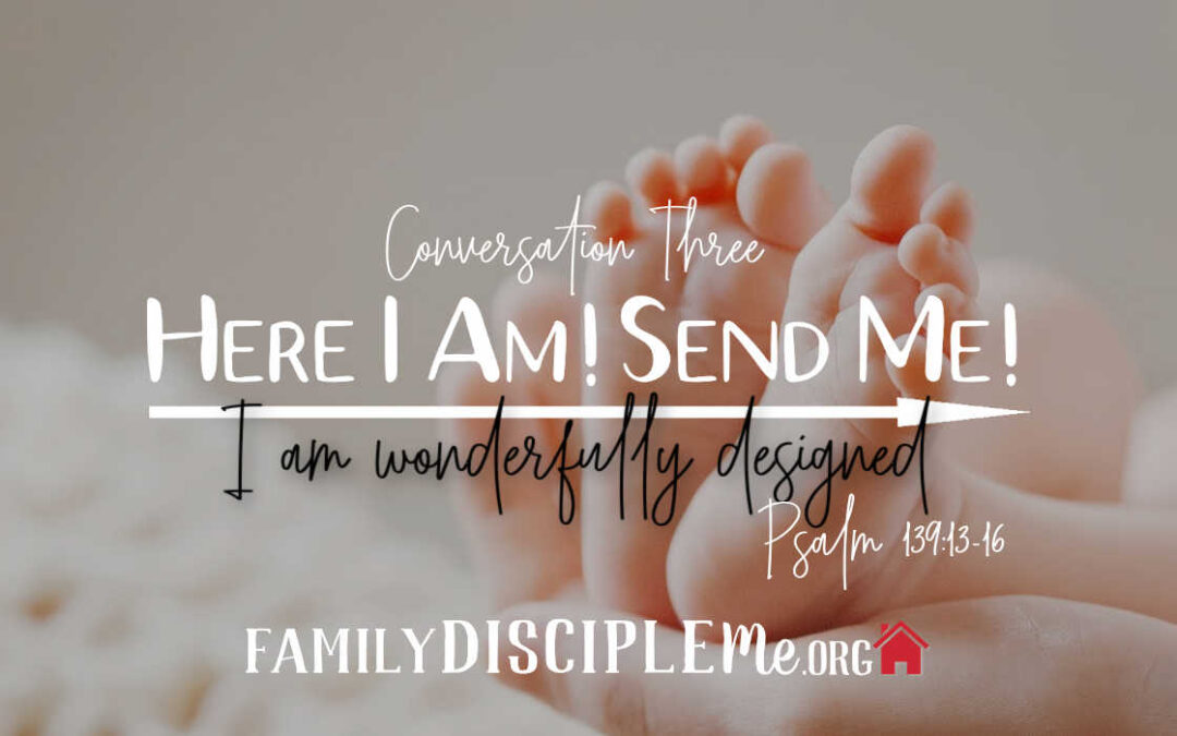 "The ""Here I Am! Send Me!"" Series: I Am Wonderfully Designed"