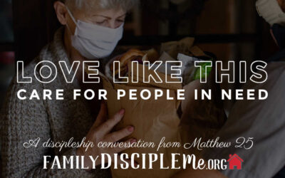 """LOVE LIKE THIS: """"Care for People in Need"""""""