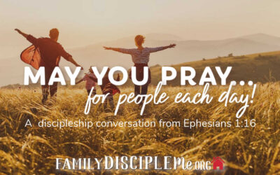 May You Pray…For People Each Day